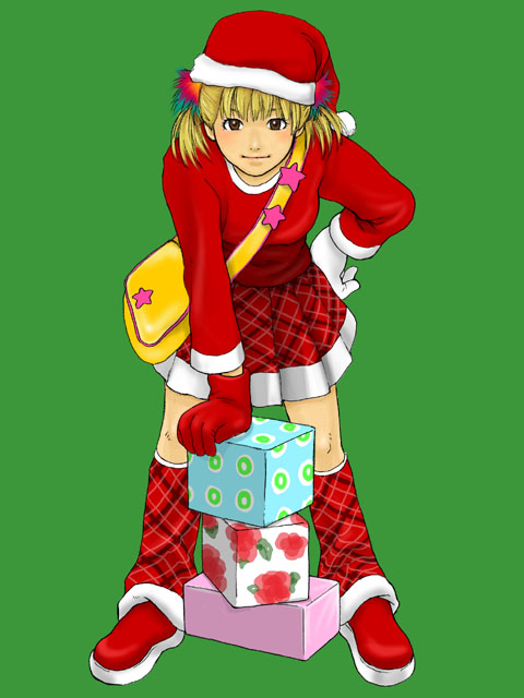 クリスマスだぴょん!