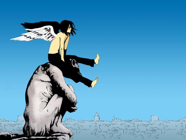 ガーゴイルの翼